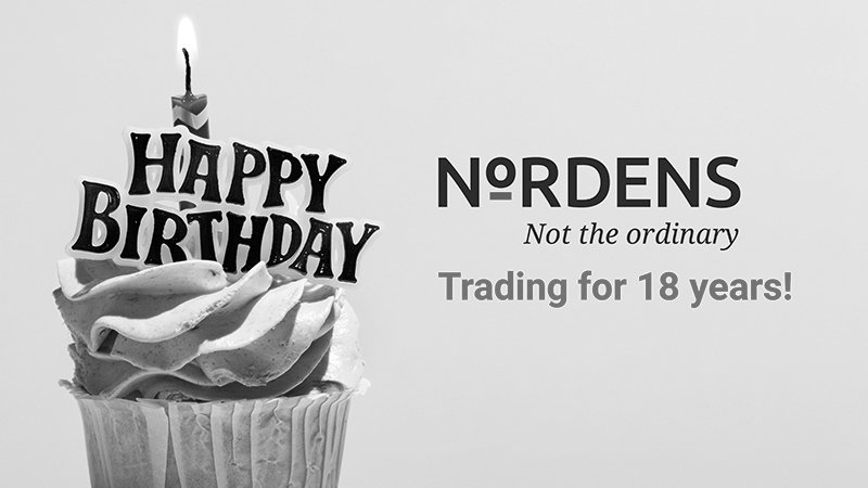 Nordens Trading for 18 years